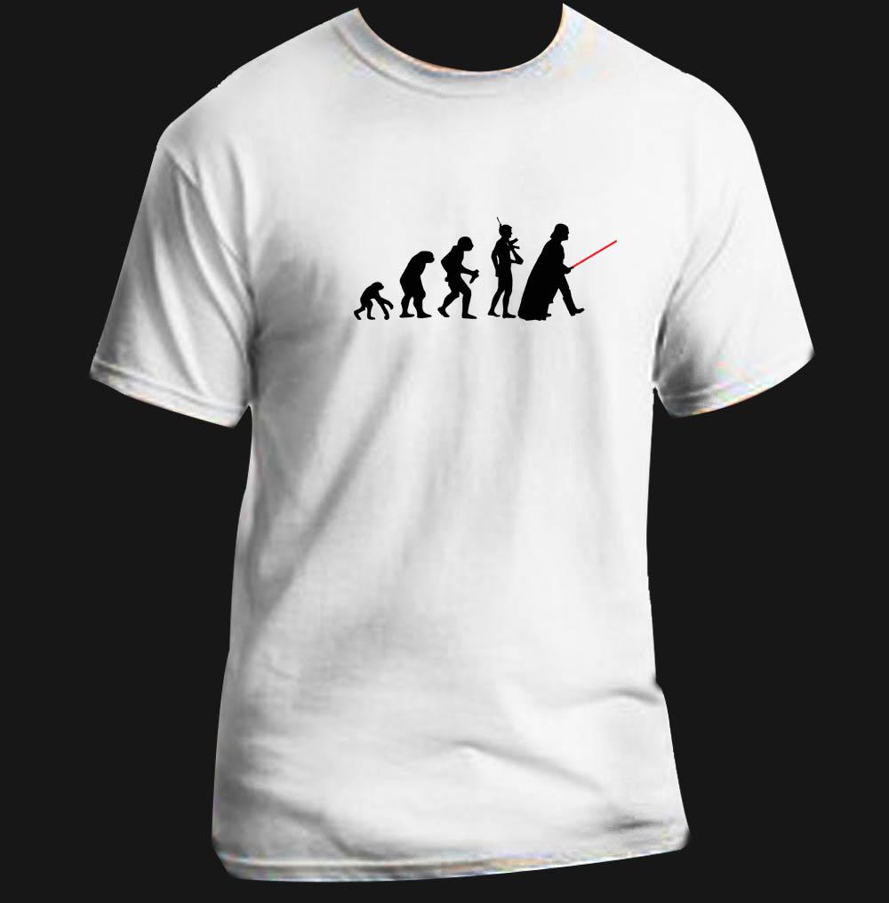star wars evolution funny darth vader adult t shirt custom sizes ebay. Black Bedroom Furniture Sets. Home Design Ideas